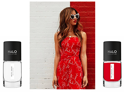 the perfect red nail polish